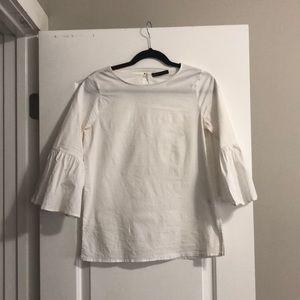Gibson poplin blouse